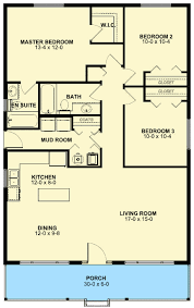 3 Bedroom Open Floor House Plans Plan 6752mg Adorable Bungalow House Porch And Bath