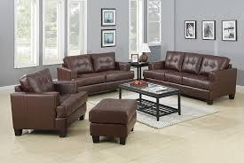 Bonded Leather Loveseat 504071 Samuel Dark Brown Bonded Leather Sofa U0026 Loveseat Set