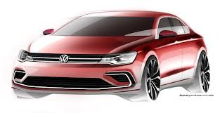 volkswagen new car volkswagen new midsize coupé debuts in beijing doesn u0027t beat
