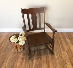 Vintage Rocking Chair For Nursery Mission Style Wood Rocking Chair Home Chair Decoration