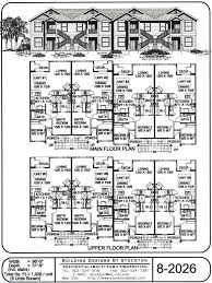 2 Story Apartment Floor Plans Simple Apartment Building Plans Design Startupious Intended Ideas