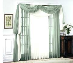Scarf Curtains How To Hang Window Scarf Curtains Curtain Gallery Images