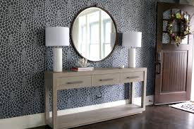 Door Entry Table by Foyer Design Reveal Before U0026 After So Chic Life