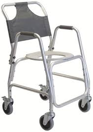 Shower Chairs With Wheels Lumex 7910a Rolling Shower Chair With Wheels