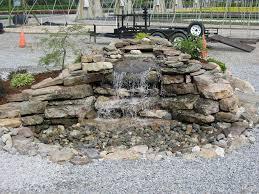waterfall kits for backyard waterfall kits water gardens garden