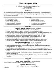 Format Job Resume 100 Free Job Resume Template Best Doctor Resume Example