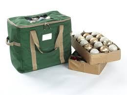 60pc ornament storage bag 18w x 11d x 16h elite green