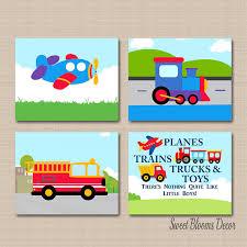 Transportation Nursery Decor Transportation Nursery Wall Arttransporation Nursery Decor