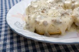 southern sausage gravy and biscuits recipe