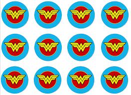 woman hawk cupcake toppers u2013 satsuma designs
