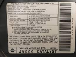 nissan versa radiator fan not working 2003 catalytic converter replacement p0420 c a r b nissan