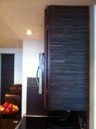 Kitchen Cabinet Refacing Diy by Diy Refacing Leather Panels Tiles Zinc Metal Sheets