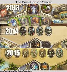 Heartstone Meme - evolution of cancer follow us on facebook for exclusive content and