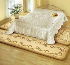 schlafzimmer teppichboden teppich mit umrandung fürs schlafzimmer bettumrandungen ebay