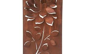 foreside home decor clever ideas bronze wall art also radiance metal abstract sculpture