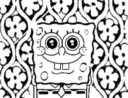 colouring pages online spongebob squarepants coloring 799511