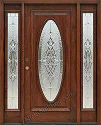 All Glass Exterior Doors Exterior Doors With Sidelights Solid Mahogany Entry Doors