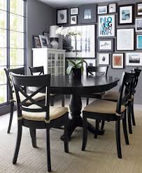 5 pc round pedestal dining table romantic black dining table for your kitchen tcg at round set