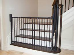 Baby Gate For Banister And Wall Toronto Child Safety Child Proofzone Baby Proofing Child Proof Zone