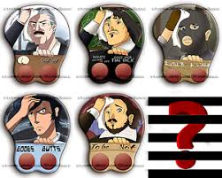 Meme Buttons - 3d mousepads meme collection daily struggle anime oppai buttons