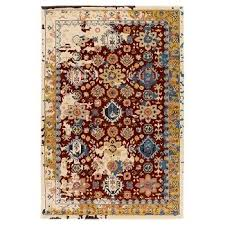 Brown And Orange Area Rug Surya Area Rugs Target