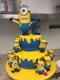 minion birthday cakes minions birthday cake palermo s custom cakes bakery