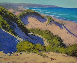 sand dunes oil painting painting by graham gercken
