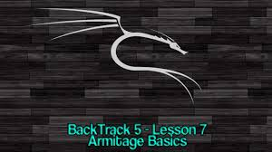 backtrack 5 lesson 7 armitage basics youtube