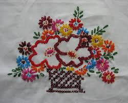 my craft works embroidered wall hanging
