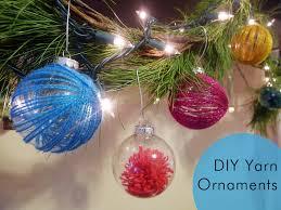 thanks i made it diy yarn ornaments
