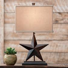 western lamps and rustic lighting lone star western decor