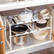 easy home expandable under sink shelf easy home expandable under sink shelf best shelf 2017