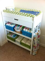 Changing Table Organization Side Table Changing Table Side Organizer Baby Nursery Review