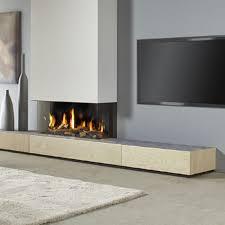 Gas Fireplace Flue by Dru Metro 100xt 3 Eco Wave 3 Sided Glass Balanced Flue Gas Fire
