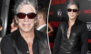 Mickey Rourke News Newslocker - mickey is that you hollywood star rourke looks unrecognisable at