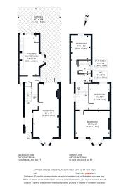 floor plan area calculator 3 bedroom property for sale in palace road london n8 1 135 000
