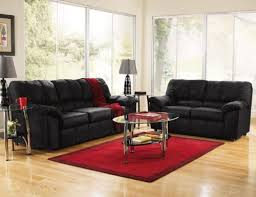 Pictures Of Living Rooms With Black Leather Furniture Black Living Room Furniture Discoverskylark
