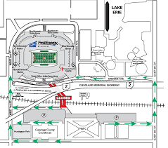 Ohio Stadium Map by City Of Cleveland Encourages Game Day Safety Straight From City Hall