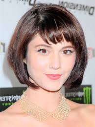 short hairstyles with bangs and medium with bangs short
