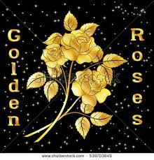golden roses golden flower stock images royalty free images vectors