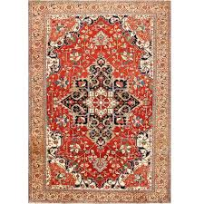 antique persian serapi rug persian 19th century and country