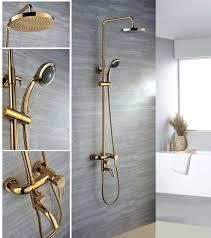 gold bathroom sink faucets modern gold 3 hole widespread bathroom