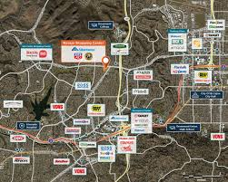 San Diego City Map by Navajo Shopping Center San Diego Ca 92119 U2013 Retail Space