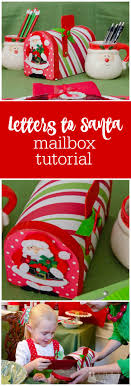 tutorial embellished mailbox diy mailbox santa and