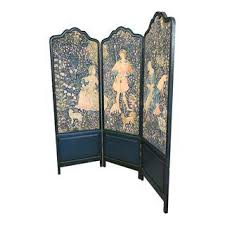 Antique Room Divider by Vintage U0026 Used Green Screens And Room Dividers Chairish
