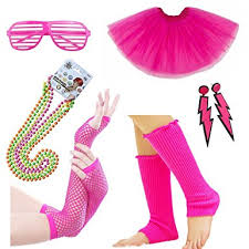 amazon com womens 80s costume accessories fancy dress for