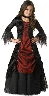 Vampire Looks For Halloween Gothic Vampira Child Halloween Costume Has Very Stylish Vampire Look