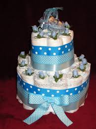 Diaper Cake Directions Photo Baby Shower Gifts Diaper Image