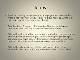 ch 2 culture intercultural comm culture why cultures differ