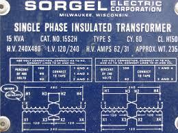 using a 15kva 240v 480v dry transformer to run 460v vfds